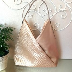 INC International Gold Bucket Bag